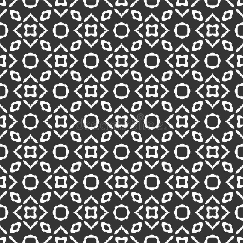Μικρή επαναλαμβανόμενη μοτίβο απεικόνιση υποβάθρου σχεδίων στο μαύρο μόριο ν ελεύθερη απεικόνιση δικαιώματος