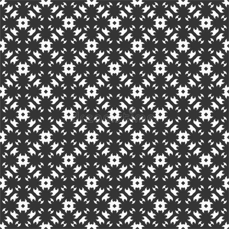 Μικρή επαναλαμβανόμενη μοτίβο απεικόνιση υποβάθρου σχεδίων στο μαύρο μόριο ν διανυσματική απεικόνιση
