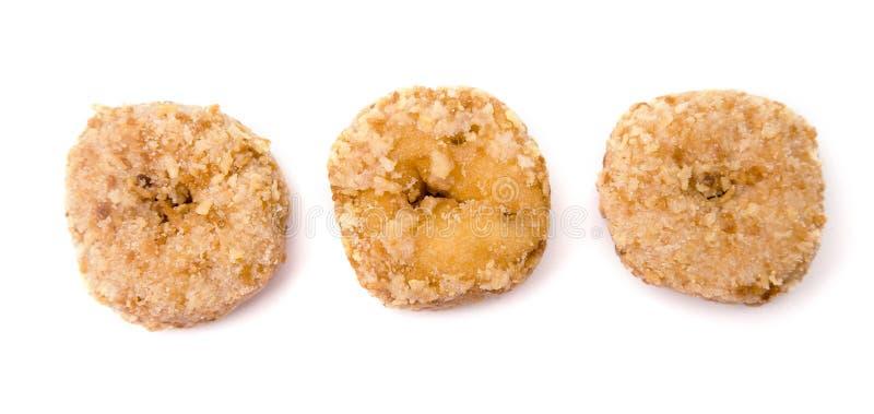 Μικρή καρύδα Donuts στοκ φωτογραφία με δικαίωμα ελεύθερης χρήσης