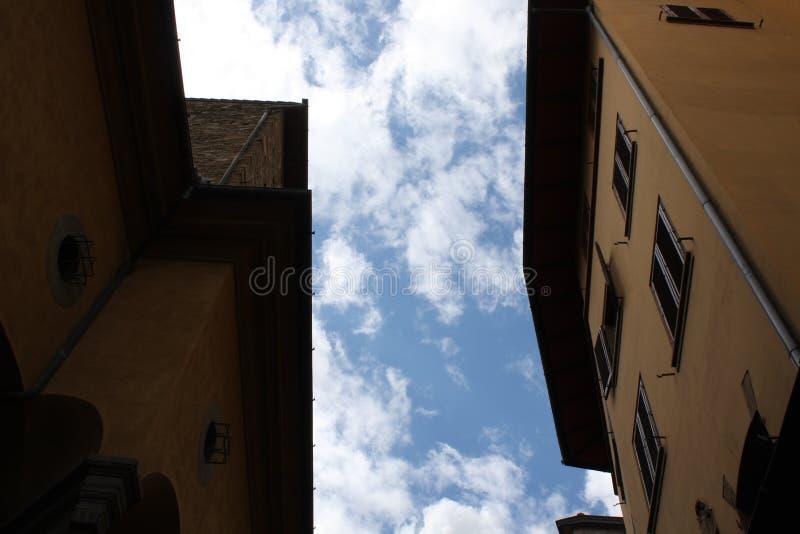 Μικρή οδός σε Florenze Ιταλία στοκ εικόνες