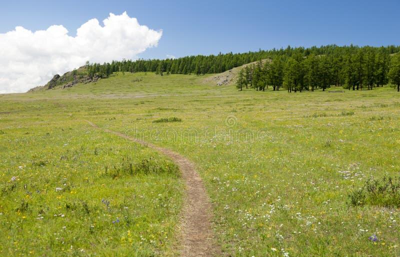 Μικρή πορεία βουνών στοκ φωτογραφία με δικαίωμα ελεύθερης χρήσης