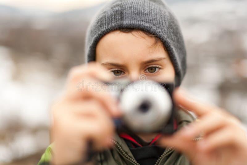 μικρή υπαίθρια λήψη εικόνων  στοκ εικόνα με δικαίωμα ελεύθερης χρήσης
