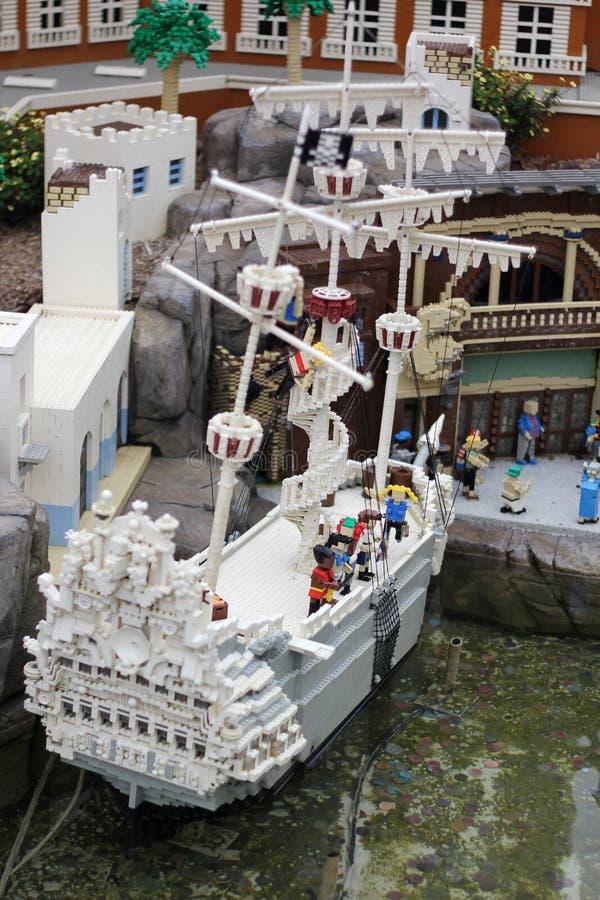 Μικρογραφία Legoland, ασβέστιο στοκ φωτογραφίες με δικαίωμα ελεύθερης χρήσης