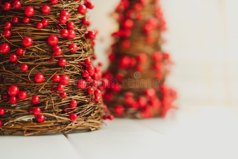 Μικροσκοπικές διακοσμήσεις Χριστουγέννων στοκ φωτογραφίες
