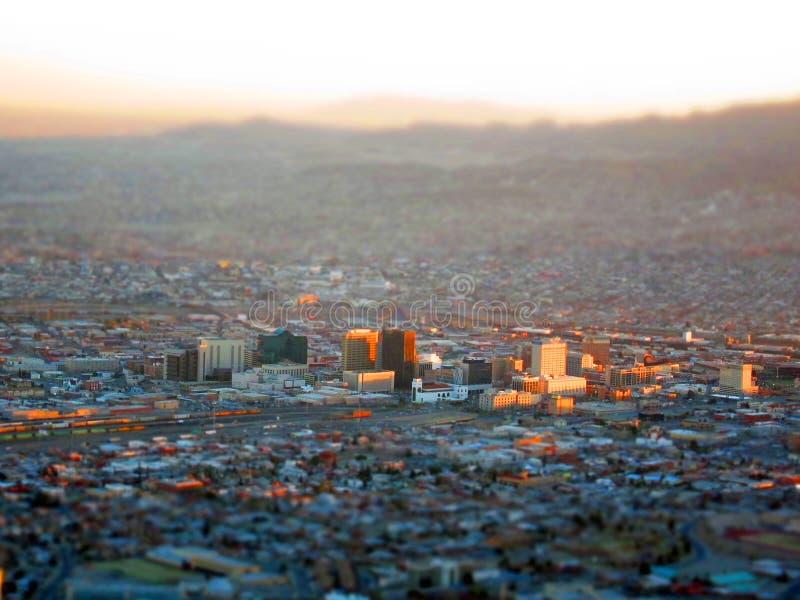 Μικροσκοπικό Ελ Πάσο στοκ φωτογραφία με δικαίωμα ελεύθερης χρήσης