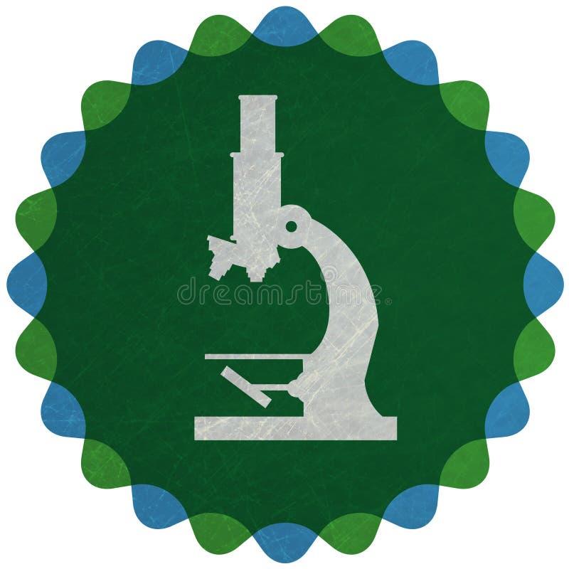 μικροσκόπιο διανυσματική απεικόνιση
