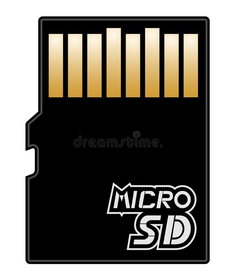μικροϋπολογιστής SD μνήμης απεικόνιση αποθεμάτων