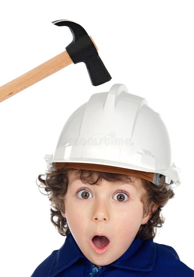 μικρός εργαζόμενος στοκ φωτογραφία με δικαίωμα ελεύθερης χρήσης