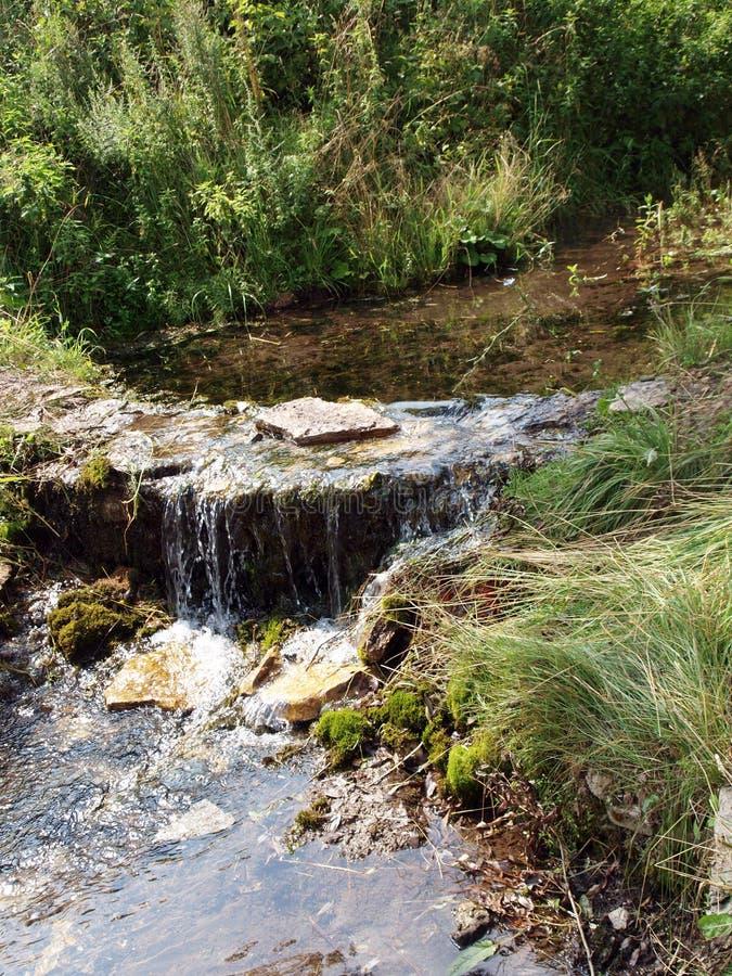 μικρός καταρράκτης ποταμών στοκ εικόνα