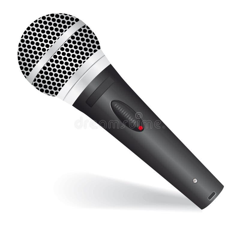 μικρόφωνο εικονιδίων απεικόνιση αποθεμάτων