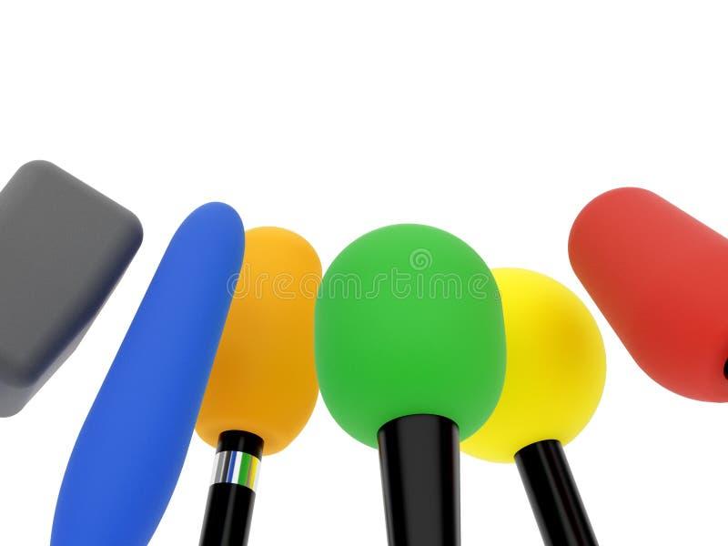 μικρόφωνο διανυσματική απεικόνιση