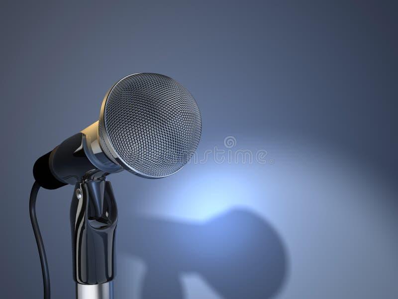 Μικρόφωνο 5 στοκ εικόνα με δικαίωμα ελεύθερης χρήσης
