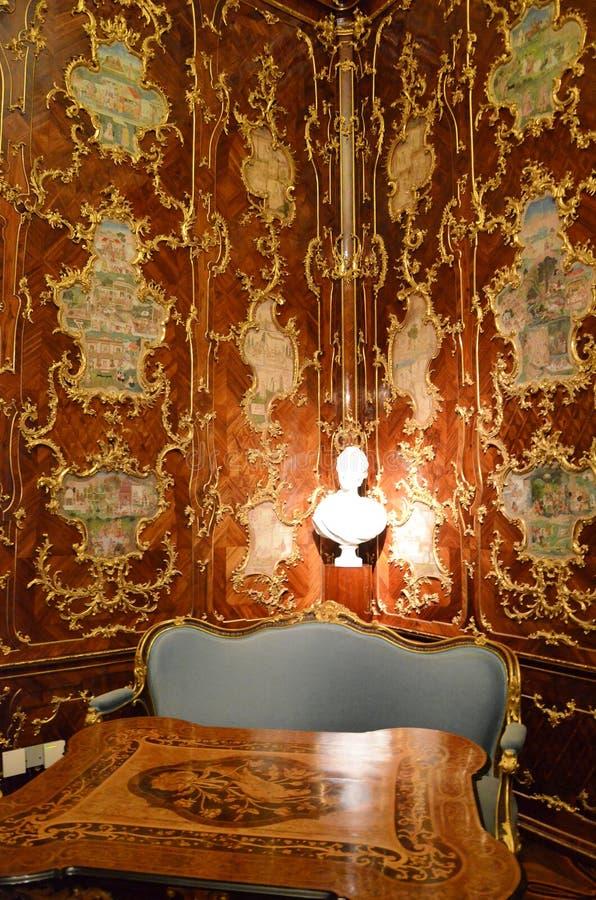 Μικρό γραφείο στο παλάτι της Βιέννης στοκ εικόνες με δικαίωμα ελεύθερης χρήσης