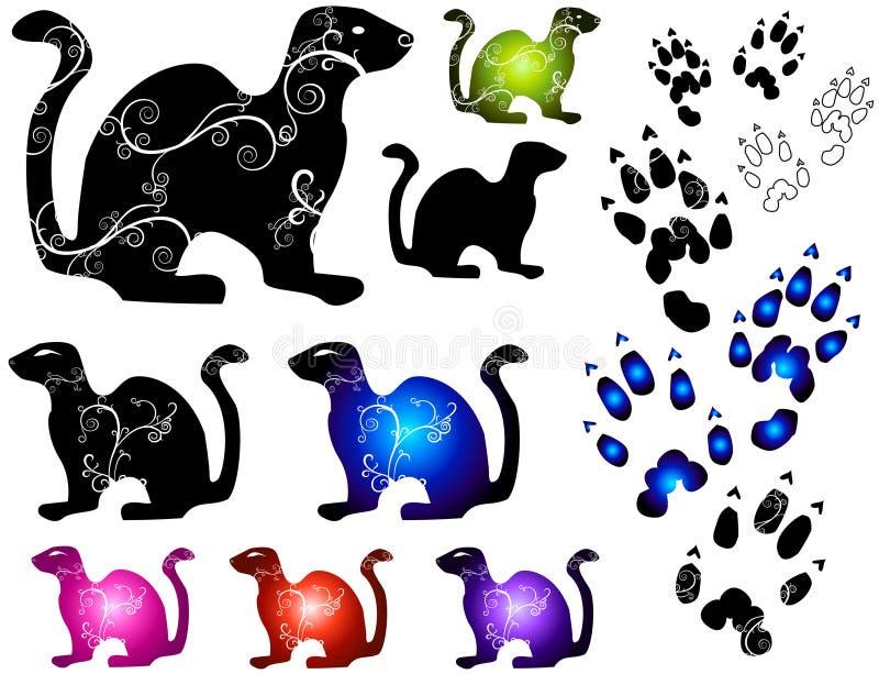 μικρό διάνυσμα ζώων απεικόνιση αποθεμάτων