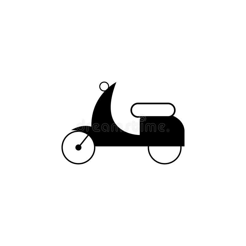 μικρό εικονίδιο μοτοσικλετών Στοιχεία του εικονιδίου μεταφορών Γραφικό εικονίδιο σχεδίου εξαιρετικής ποιότητας Εικονίδιο συλλογής ελεύθερη απεικόνιση δικαιώματος