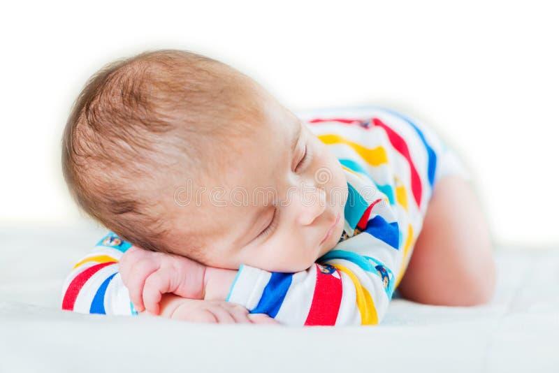 Download Μικρό μωρό στην έννοια παιδικής ηλικίας Στοκ Εικόνα - εικόνα από μάτια, κοιμισμένος: 62710945
