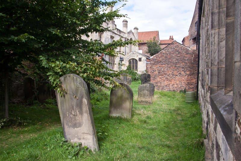 Μικρό νεκροταφείο στην Υόρκη, Αγγλία, UK στοκ εικόνες