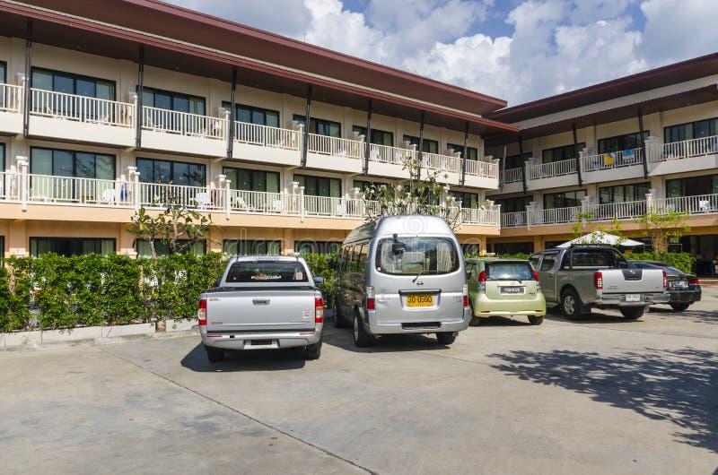 Μικρό ξενοδοχείο στο ταϊλανδικό ύφος. στοκ φωτογραφίες με δικαίωμα ελεύθερης χρήσης