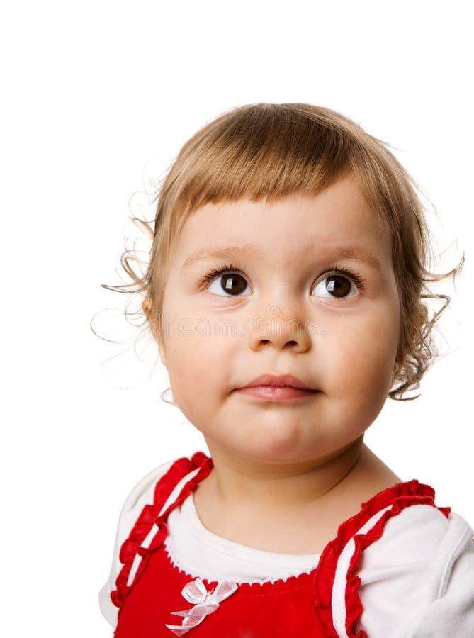 μικρό παιδί κοριτσιών στοκ φωτογραφία