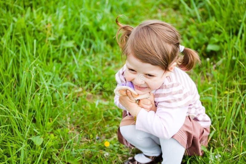 μικρό παιδί πορτρέτου στοκ εικόνες