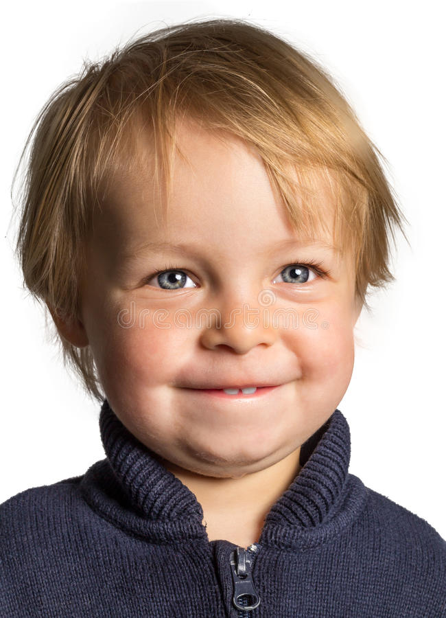 Μικρό παιδί Ckeeky στοκ εικόνες