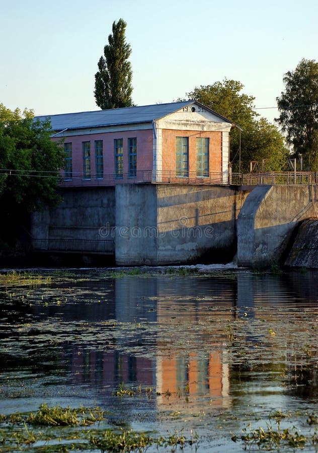 Μικρό υδροθεραπευτήριο στον ποταμό Ros στοκ φωτογραφία με δικαίωμα ελεύθερης χρήσης