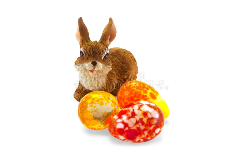 Download Μικρό bunny Πάσχας στοκ εικόνα. εικόνα από απομονωμένος - 13177387