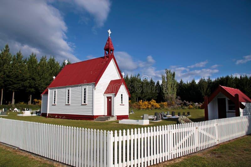 μικρό waitetoko παρεκκλησιών στοκ φωτογραφίες