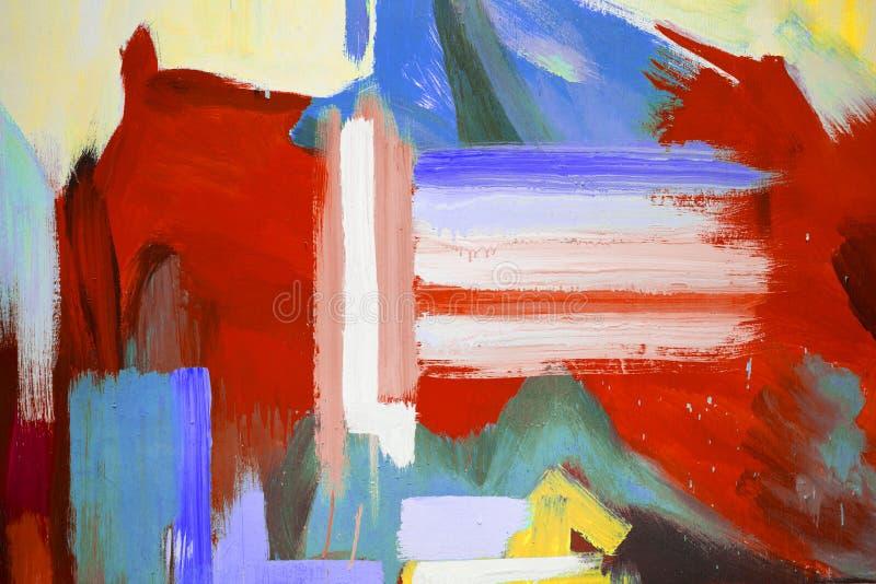 Μικτά μέσα - χρωματισμένο χέρι υπόβαθρο στοκ φωτογραφίες με δικαίωμα ελεύθερης χρήσης