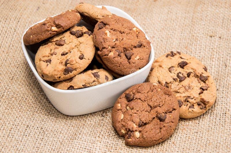 Μικτά μπισκότα σε ένα κύπελλο στοκ φωτογραφία με δικαίωμα ελεύθερης χρήσης