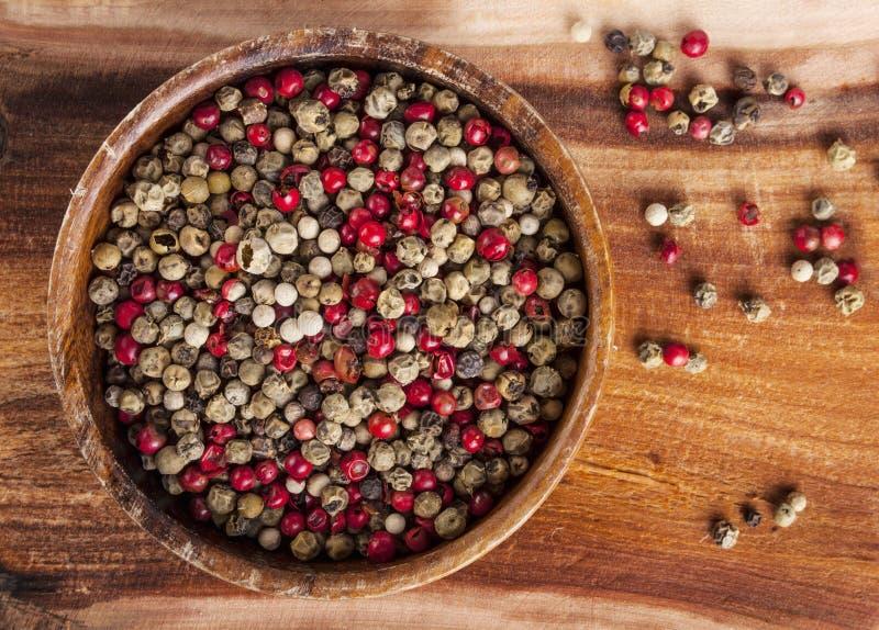 Μικτά peppercorns στοκ εικόνες με δικαίωμα ελεύθερης χρήσης