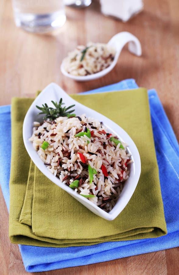 μικτό ρύζι στοκ εικόνες