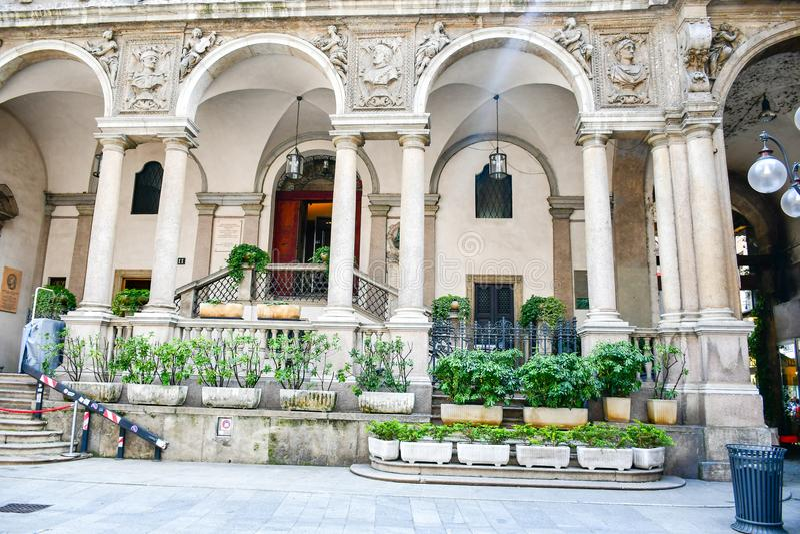 Μιλάνο, Ιταλία στοκ φωτογραφία με δικαίωμα ελεύθερης χρήσης