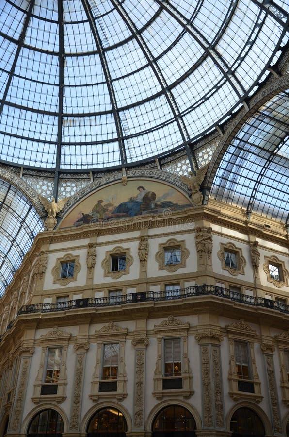 Μιλάνο, Ιταλία 10 05 2015: ?? Galleria Vittorio Emanuele ?? στοκ φωτογραφίες με δικαίωμα ελεύθερης χρήσης