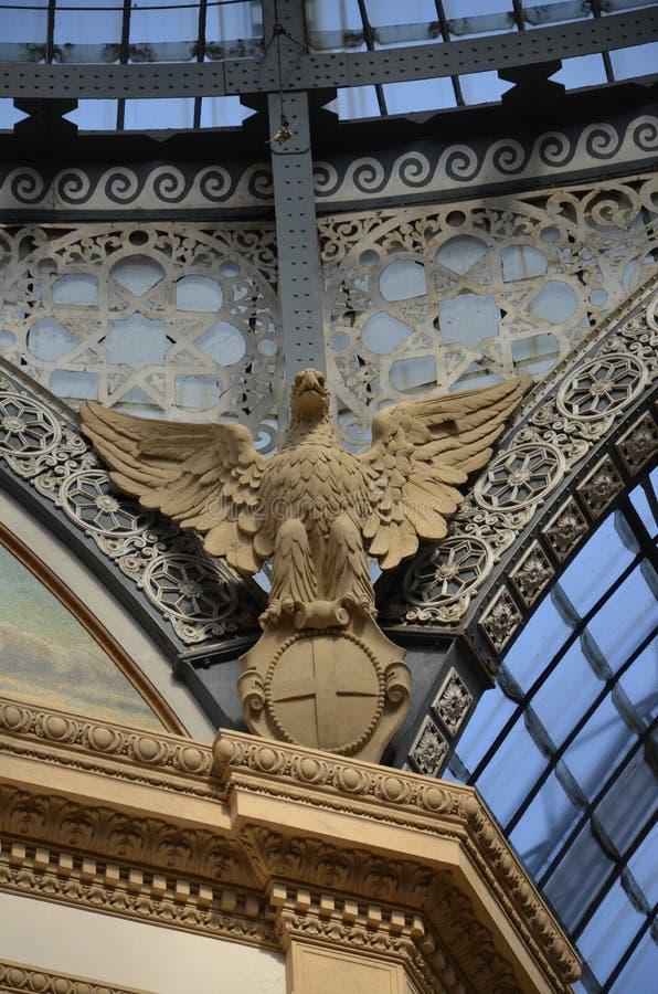 Μιλάνο, Ιταλία 10 05 2015: ?? Galleria Vittorio Emanuele ?? στοκ εικόνα