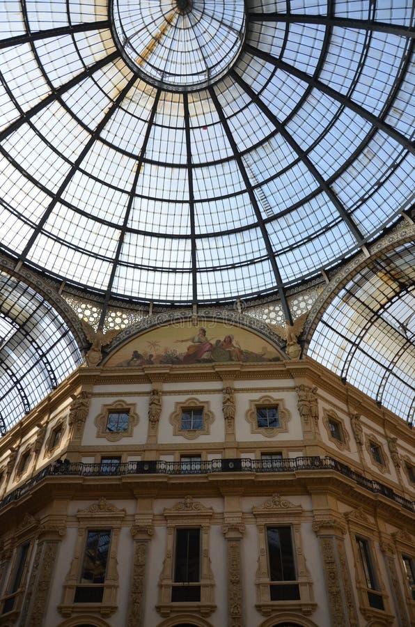 Μιλάνο, Ιταλία 10 05 2015: ?? Galleria Vittorio Emanuele ?? στοκ φωτογραφία με δικαίωμα ελεύθερης χρήσης