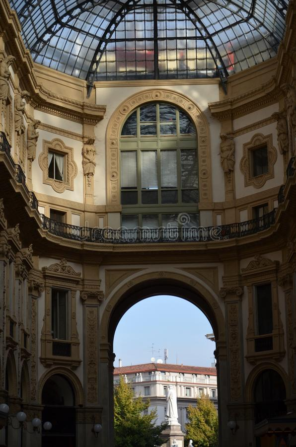 Μιλάνο, Ιταλία 10 05 2015: ?? Galleria Vittorio Emanuele ?? στοκ εικόνες με δικαίωμα ελεύθερης χρήσης