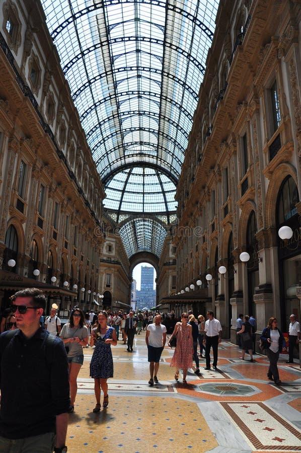 Μιλάνο Duomo Galleria στοκ φωτογραφία με δικαίωμα ελεύθερης χρήσης