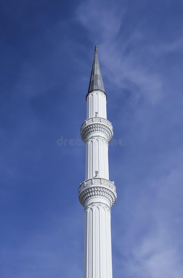 Μιναρές του μουσουλμανικού τεμένους στοκ εικόνες