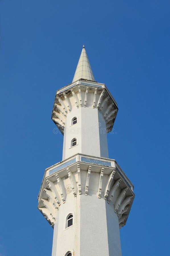 Μιναρές του σουλτάνου Ahmad Shah 1 μουσουλμανικό τέμενος σε Kuantan στοκ εικόνα