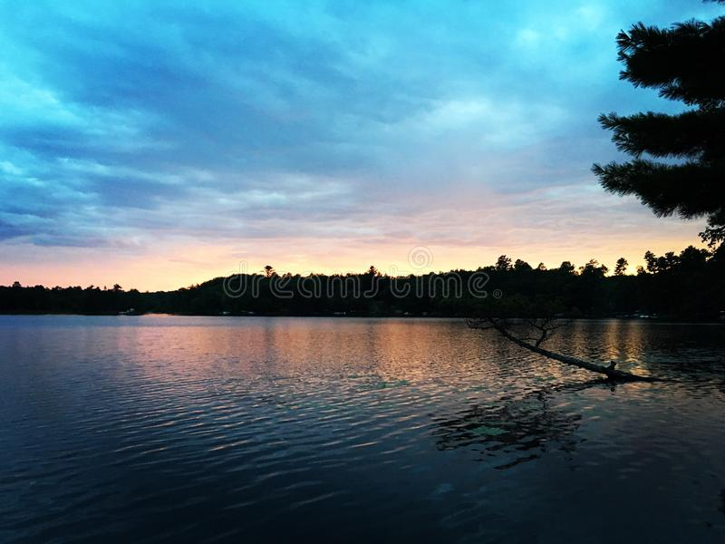 Μινεσότα Sunsets στοκ εικόνα