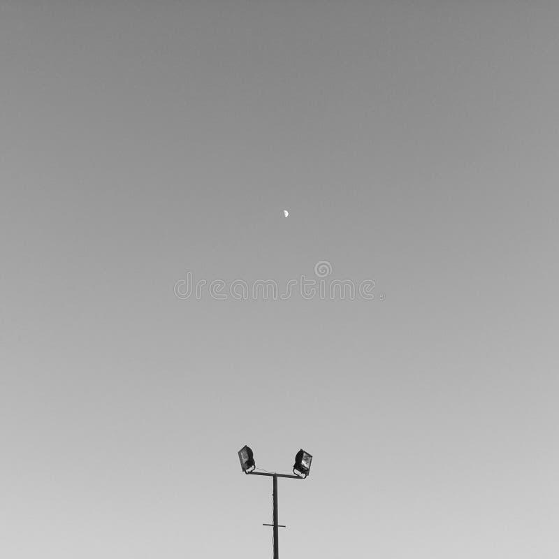 Μινιμαλισμός του ουρανού στοκ εικόνες