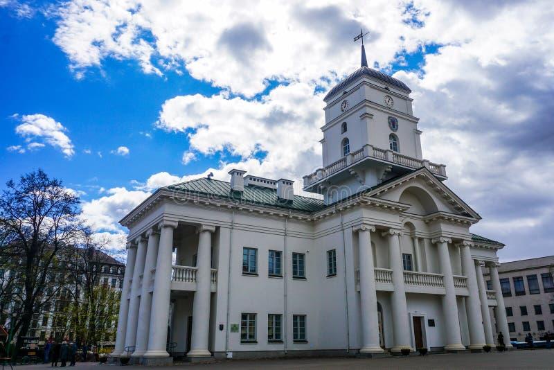 Μινσκ Δημαρχείο στοκ φωτογραφίες με δικαίωμα ελεύθερης χρήσης