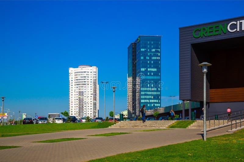 Μινσκ, σύγχρονη αρχιτεκτονική στοκ εικόνα