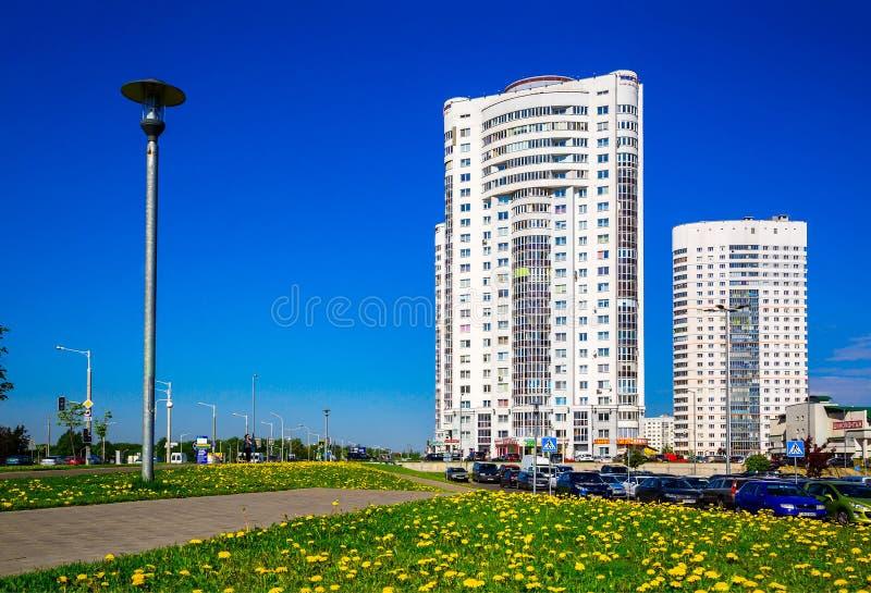 Μινσκ, σύγχρονη αρχιτεκτονική στοκ εικόνα με δικαίωμα ελεύθερης χρήσης