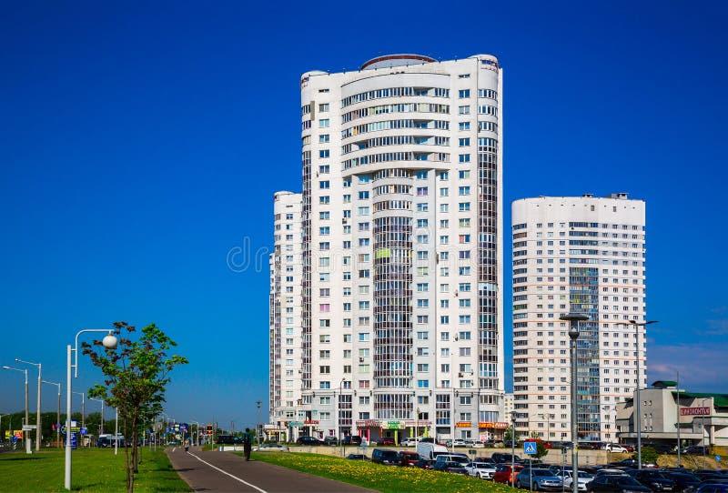 Μινσκ, σύγχρονη αρχιτεκτονική στοκ εικόνες με δικαίωμα ελεύθερης χρήσης