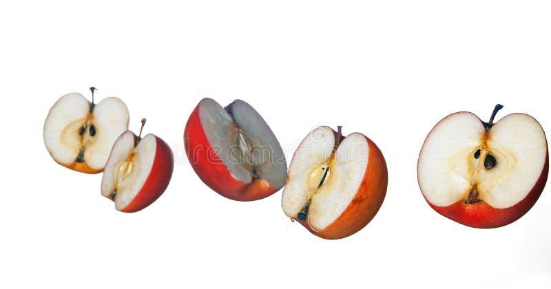 μισά μήλων στοκ εικόνα με δικαίωμα ελεύθερης χρήσης