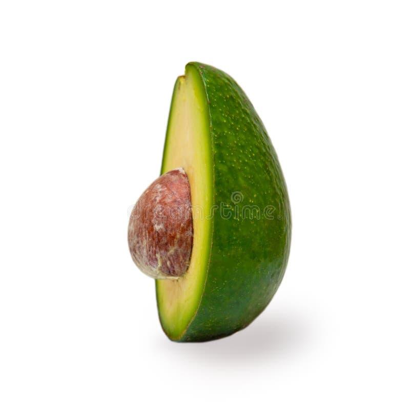 Μισά φρούτα αβοκάντο με έναν σπόρο στοκ φωτογραφίες με δικαίωμα ελεύθερης χρήσης