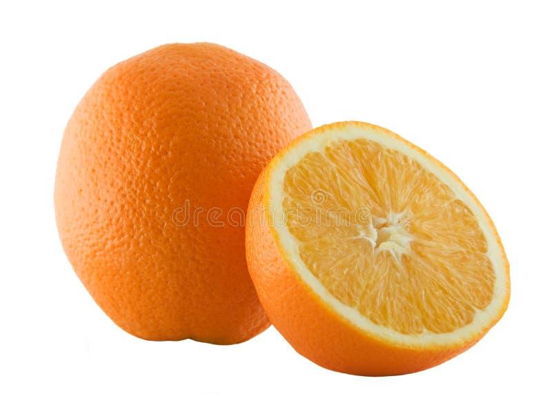 μισό πορτοκάλι του στοκ εικόνες με δικαίωμα ελεύθερης χρήσης