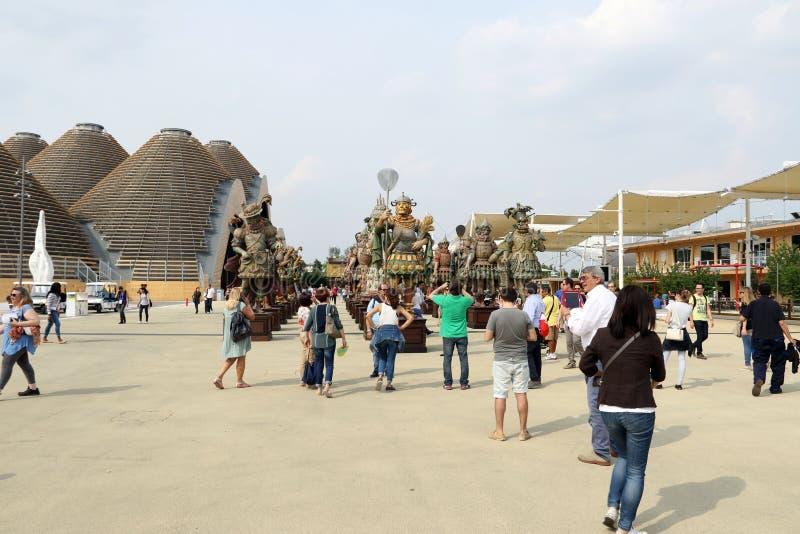 Μιλάνο EXPO, Ιταλία στοκ εικόνα με δικαίωμα ελεύθερης χρήσης